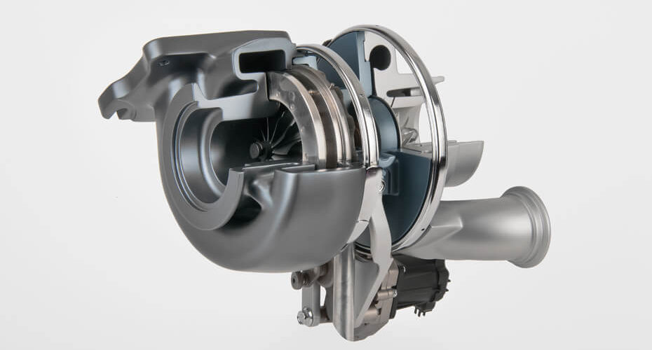 Commercial Vehicle DAVNT (Double Axle VNT) Turbocharger