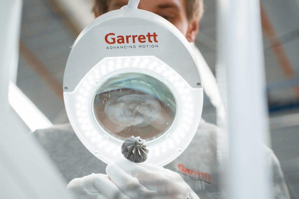 Olivier Rabiller CEO Garrett Motion