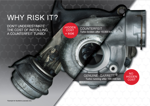 Garrett Turbo Replacement / Aftermarket / Installer Connect Turbo