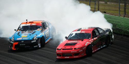 Garrett Motion sponsored drivers Kevin Lawrence and Dean Kearney