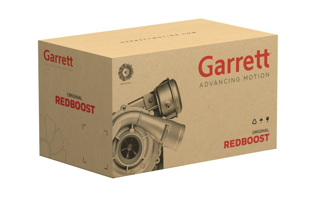 Garrett RedBoost Packaging Box