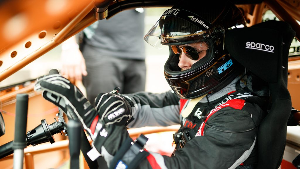 Garrett Motion Sponsored Driver Adam LZ Formula Drift Road Atlanta