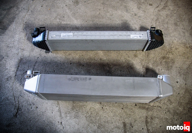 Focus Intercooler comparison