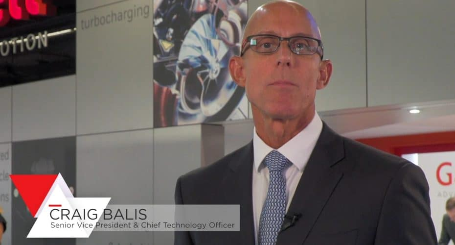 Craig Balis SVP and CTO Garrett Motion Inc