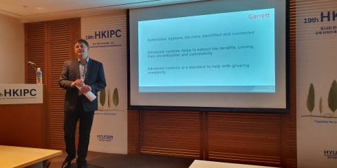 Garrett Motion Connected Vehicle team provide keynote at Control and Calibration session at 19th HKIPC