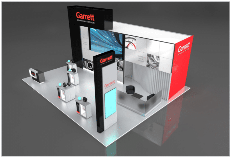 Sample Booth Layout 100sqm