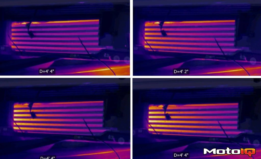 Thermal camera Garrett Intercooler Test