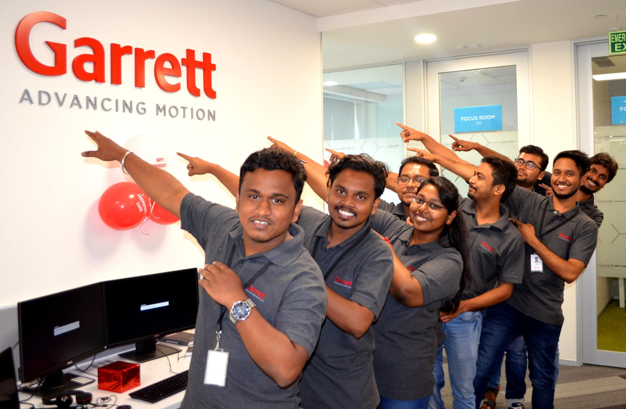 Garrett India Interns 2019/2020